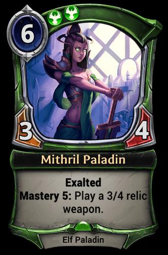 Mithril Paladin card