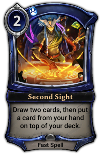 Second Sight card