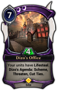 Dizo's Office