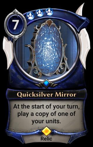 Quicksilver Mirror card