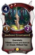 Jawbone Greatsword