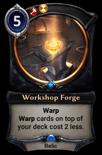 Workshop Forge card