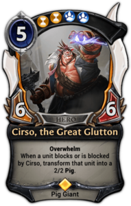 Cirso, the Great Glutton