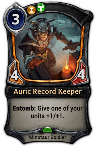 Auric Record Keeper card