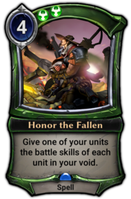 Honor the Fallen