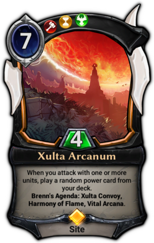 Xulta Arcanum card
