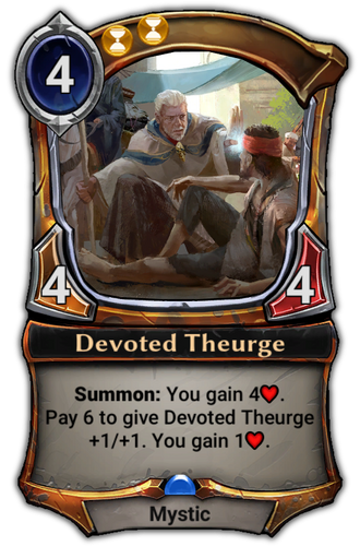 Devoted Theurge card