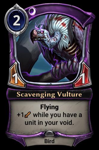 Scavenging Vulture card