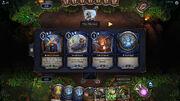 Market UI during gameplay.