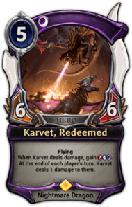 Karvet, Redeemed