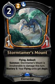 Stormtamer's Mount