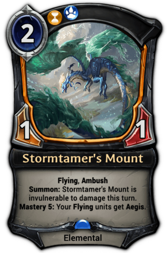 Stormtamer's Mount card