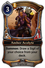 Amber Acolyte