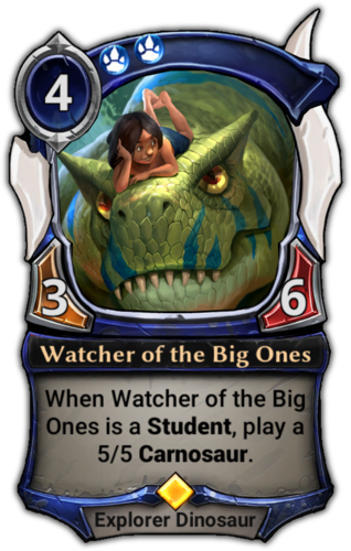 Watcher of the Big Ones card