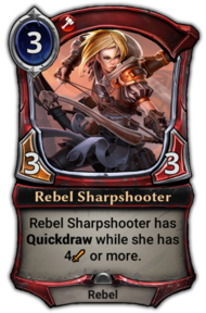 Rebel Sharpshooter