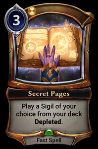 Secret Pages