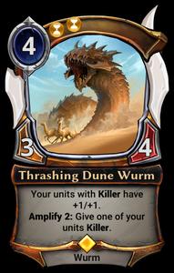 Thrashing Dune Wurm
