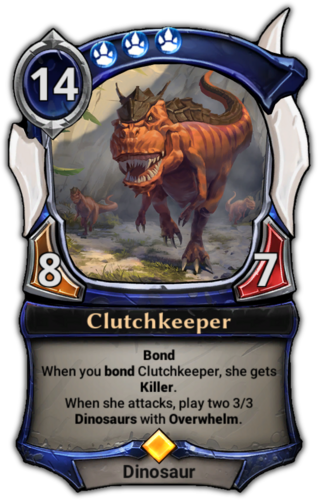 Clutchkeeper card