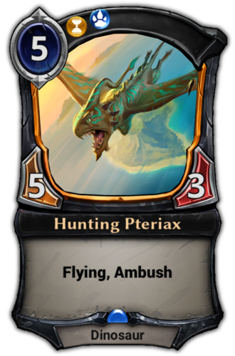 Hunting Pteriax card