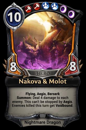 Nakova & Molot card