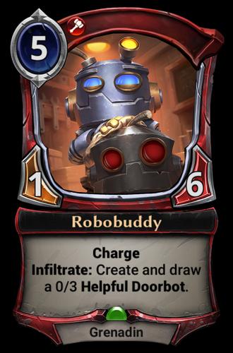 Robobuddy card