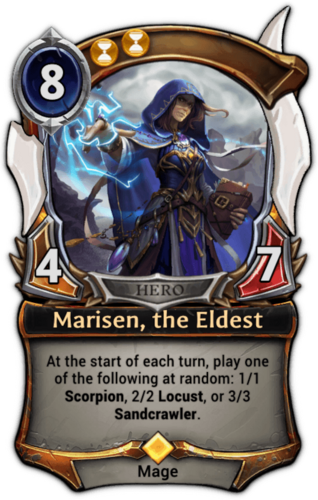 Marisen, the Eldest card