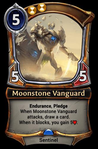 Moonstone Vanguard card