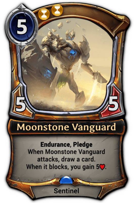Moonstone Vanguard Eternal Card Game Wiki Fandom