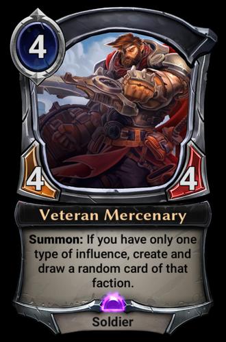 Veteran Mercenary card