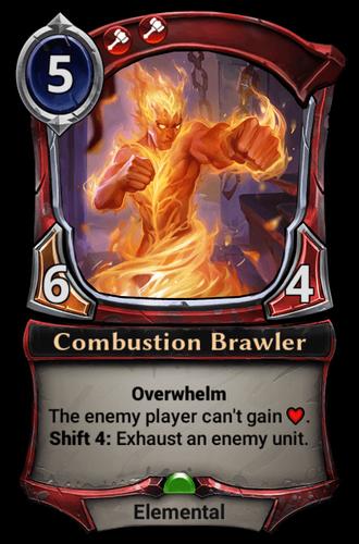Combustion Brawler card