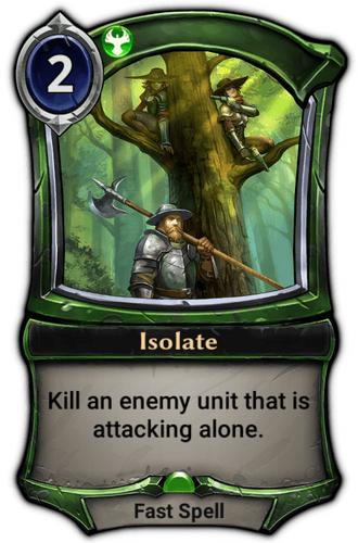 Isolate card