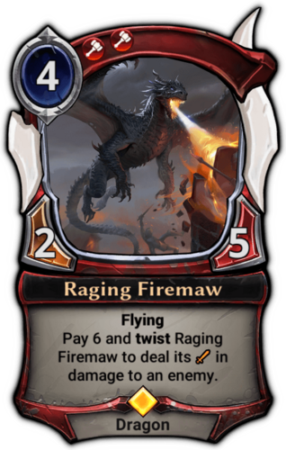 Raging Firemaw card
