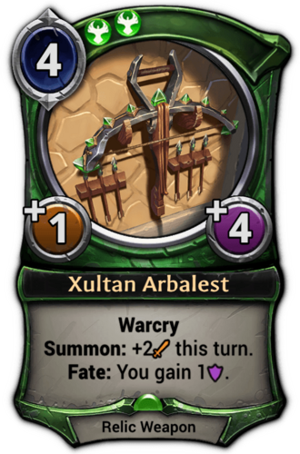 Xultan Arbalest card