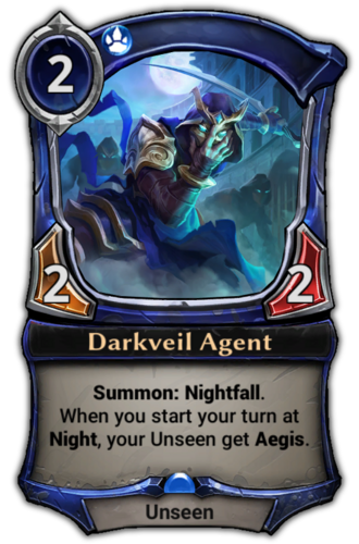 Darkveil Agent card