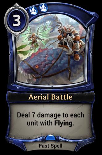 Aerial Battle card