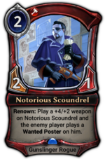 Notorious Scoundrel