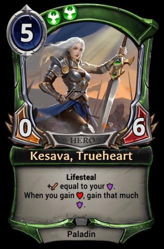 Kesava, Trueheart card
