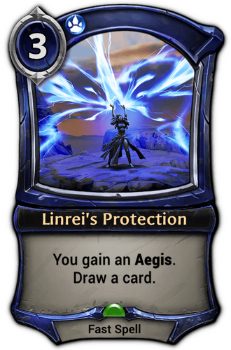 Linrei's Protection card