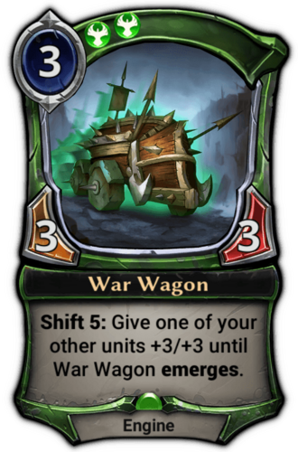 War Wagon card