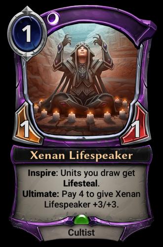 Xenan Lifespeaker card