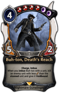 Buh-ton, Death's Reach (alt)