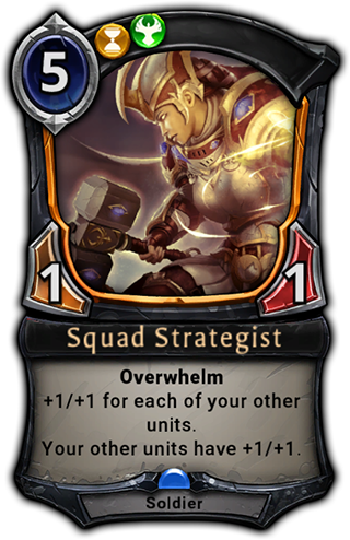 Squad Strategist card
