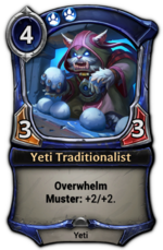 Yeti Traditionalist