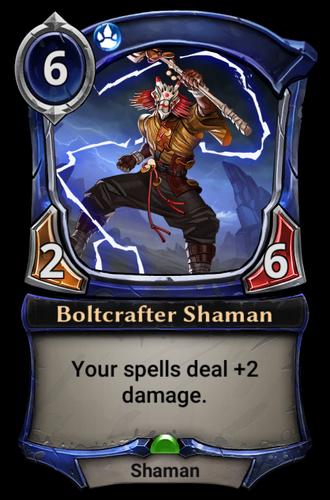 Boltcrafter Shaman card