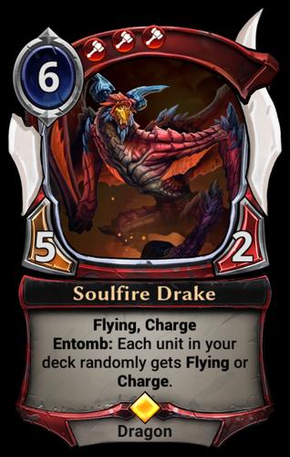 Soulfire Drake card