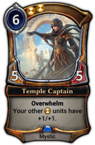 Temple Captain