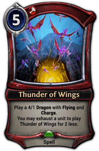 Thunder of Wings card