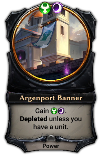 Argenport Banner card