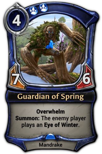 Guardian of Spring card