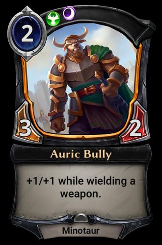 Auric Bully card